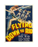 Flying Down To Rio Giclee-trykk