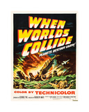 When Worlds Collide Giclee-trykk