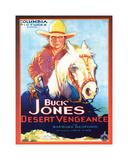 Buck Jones Giclee-trykk
