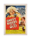 Ghost Rider Giclee-trykk