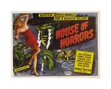 House Of Horror Giclee-trykk