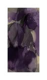 Cascade Amethyst Triptych I Giclee Print by Kristina Jett
