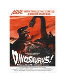 Dinosaurus Giclee-trykk