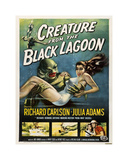 Den sorte lagune Giclee-trykk
