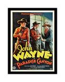 John Wayne Paradise Canyon Giclee-trykk