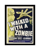 I Walked With A Zombie Giclee-trykk