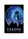Europa-Discover Life Under The Giclée-tryk af JPL