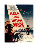 Plan 9 From Outer Space Giclee-trykk