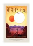 Relax On Kepler Giclée-tryk af JPL
