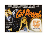 Cat People Giclee-trykk