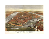 The City of New York Giclee Print by Dan Sproul