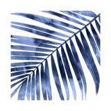 Tropical Indigo Palm I Giclée-tryk af Melonie Miller