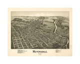 Meyersdale PA Giclee Print by Dan Sproul