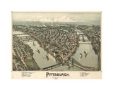 Pittsburgh Giclee Print by Dan Sproul