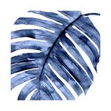 Tropical Indigo Palm II Giclée-tryk af Melonie Miller
