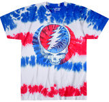 Grateful Dead- American Stealie T-Shirts