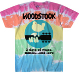 Woostock- 3 Days Of Peace And Love Tshirts