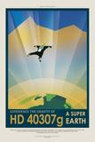 NASA/JPL: Visions Of The Future - Hd 40307G Poster