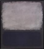 Blue & Gray, 1961 Poster von Mark Rothko