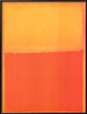 Orange and Yellow Prints by Mark Rothko