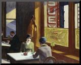 Chop Suey, 1929 Affiche montée sur bois par Edward Hopper