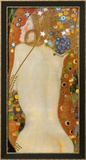 Serpientes acuáticas IV, c.1907 Lámina por Gustav Klimt