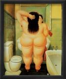 Bad, på italiensk Posters af Fernando Botero