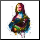 Da Vinci Pop Mounted Print by Patrice Murciano