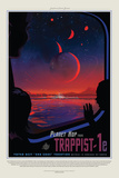 NASA/JPL: Visions Of The Future - Trappist Plakater