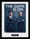Sherlock - The Game is On Collector Print