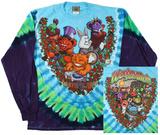 Long Sleeve: Grateful Dead- Wonderland Jamband (Front/Back) 長袖Tシャツ