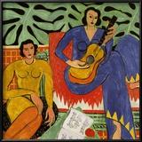 Music, c.1939 Print van Henri Matisse
