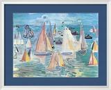 Regatta Print by Raoul Dufy