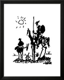 Don Quichot, ca. 1955 Print van Pablo Picasso