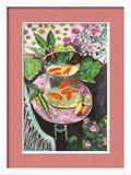 Gullfisk Plakat av Henri Matisse