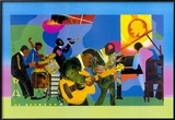 Jammin' at the Savoy Prints by Romare Bearden