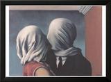 Les Amants (Lovers) Julisteet tekijänä Rene Magritte