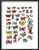 Butterflies, 1955 (Many/Varied Colors) Affischer av Andy Warhol