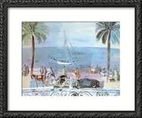 Promenade a Nice Prints by Raoul Dufy