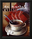 Café de Matin Kunstdrucke von Michael L. Kungl