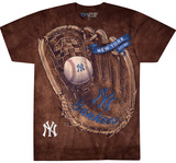MLB: New York Yankees- Logo Glove T-Shirt