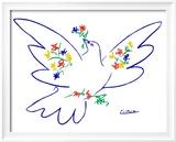 Friedenstaube Kunstdrucke von Pablo Picasso
