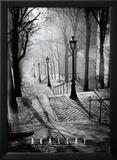 Les Escaliers de Montmartre, Paris Art par  Brassaï