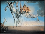 St. Antonios fristelse, ca. 1946|The Temptation of St. Anthony, c.1946 Plakater av Salvador Dalí