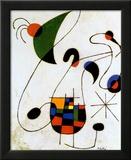 The Melancholic Singer Plakater af Joan Miró