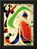 Nacht Print van Joan Miró