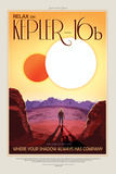 NASA/JPL: Visions Of The Future - Kepler-16B Affischer