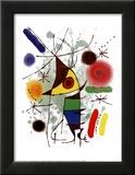 Le Chanteur Prints by Joan Miró