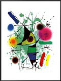 The Singing Fish Poster by Joan Miró