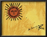 So Sunny, c. 1958 Poster van Andy Warhol